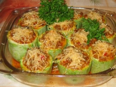 блюда из кабачков правильное питание