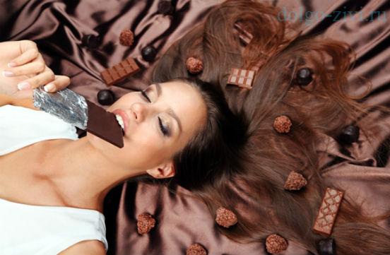 любовь к шоколдау