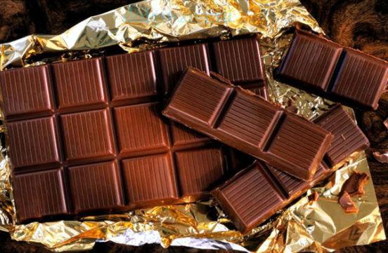 элитный черный шоколад