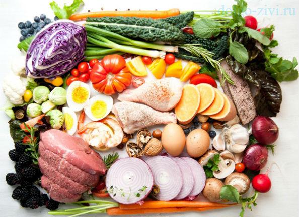 диетический набор продуктов