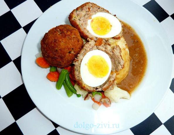 шотландские перепелиные яйца