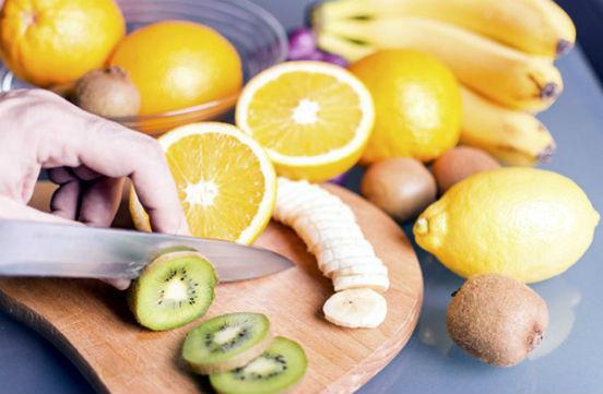 лимоны и киви