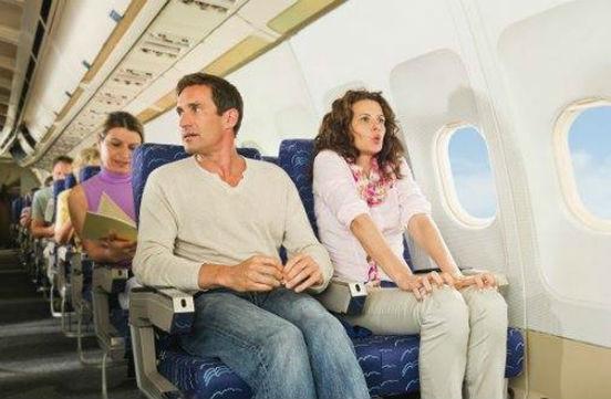 паника у женщины в самолете