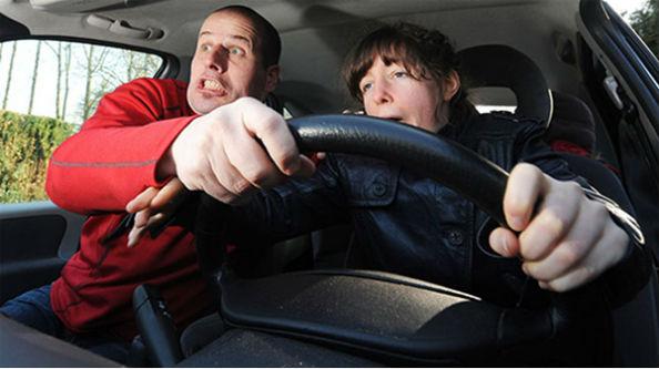 паника в автомобиле