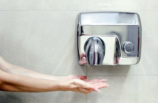руки и сушилка