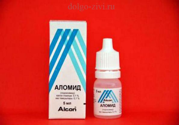Средство от аллергии в глаза