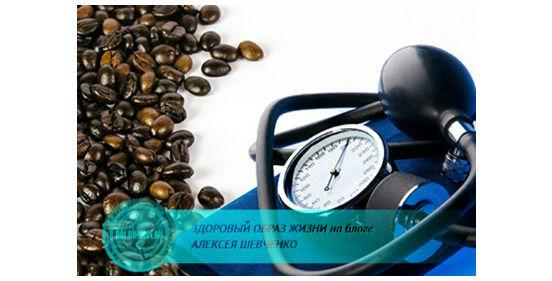 кофе и давление