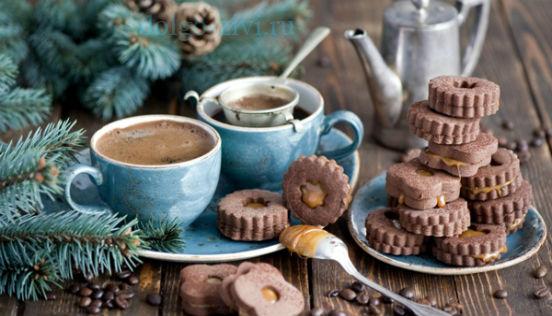 кофе и печенье