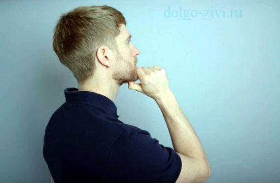 массаж двубрюшной мышцы