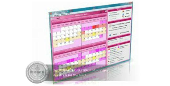 календарь для расчета