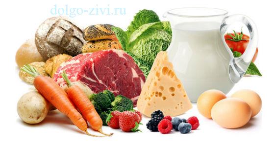полезная пища