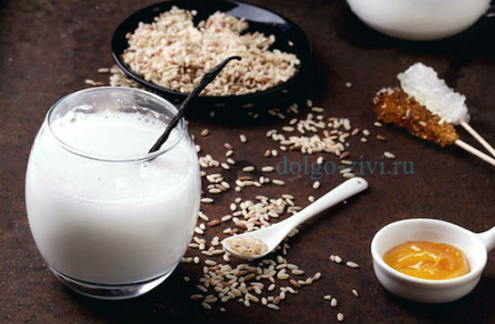 рисовое молоко