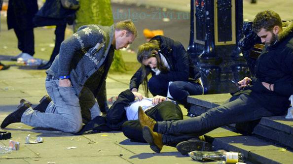 пьяные в лондоне