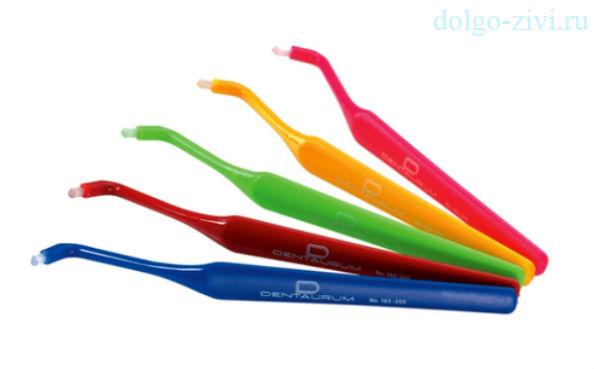 монопучковая зубная щетка