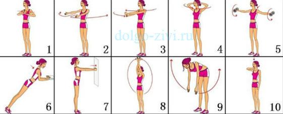 тренировка для груди