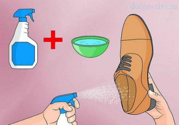 обработка обуви