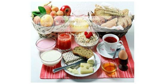 красивый завтрак