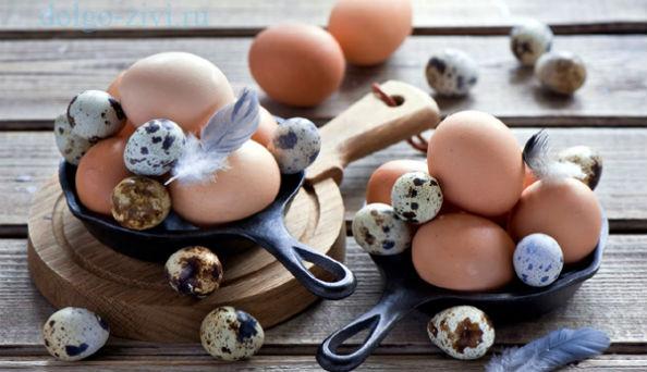 разные яйца