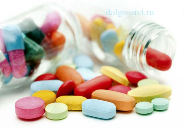 таблетки из флакона