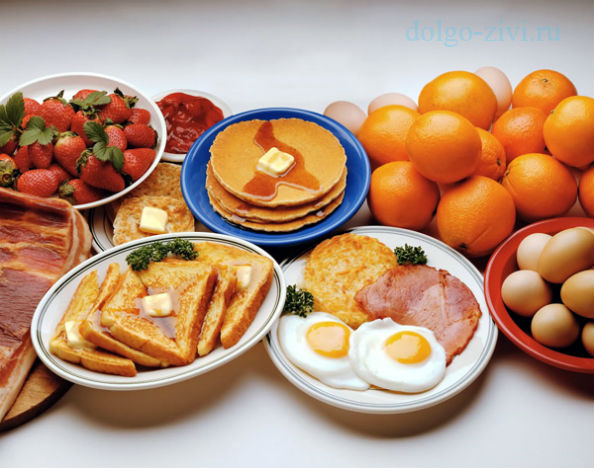 углеводный завтрак