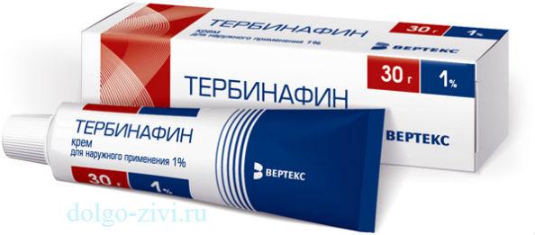 тербинафин крем