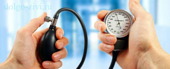 измерение давления крови