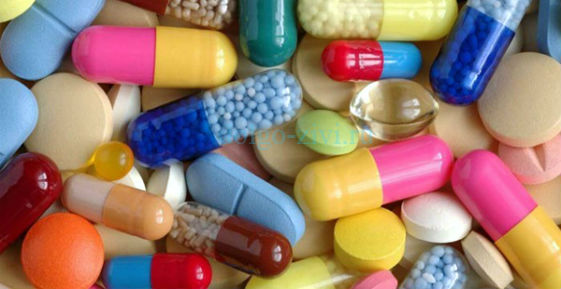 много разных таблеток