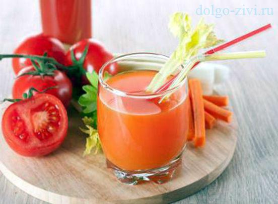 томатный смузи