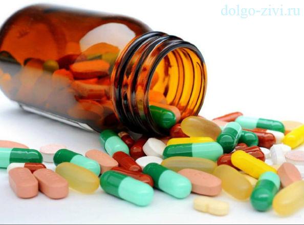 таблетки из пузырька
