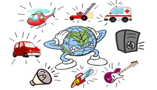 шумовое загрязнение окружающей среды