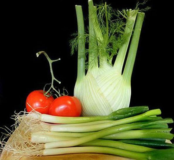 фенхель с овощами