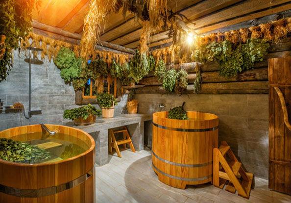 красивая баня