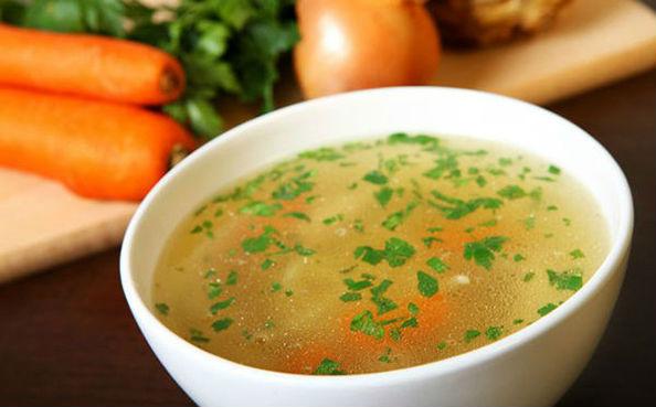 суп в чашке