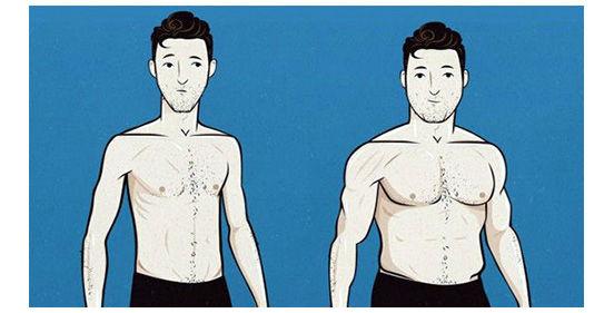 набрать вес мужчине