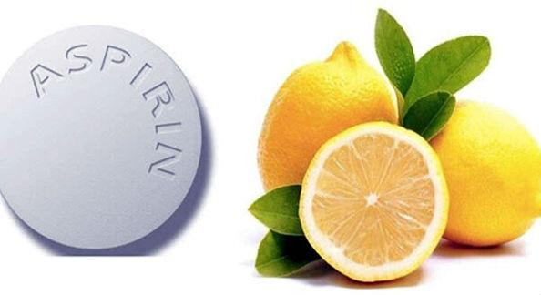 аспирин и лимонный сок