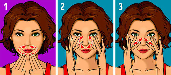 область вокруг губ