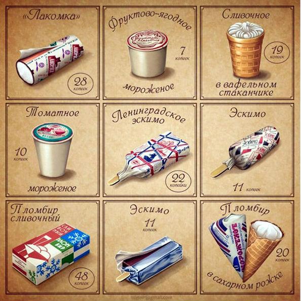 советское мороженое