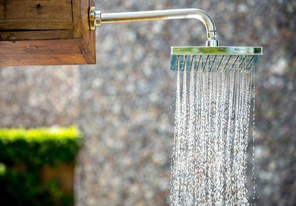 широкий душ