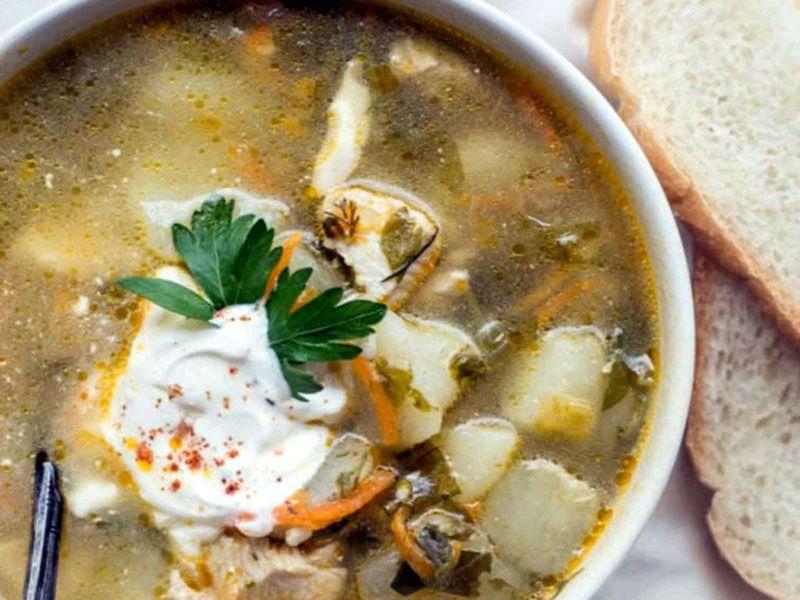 французский щавелевый суп