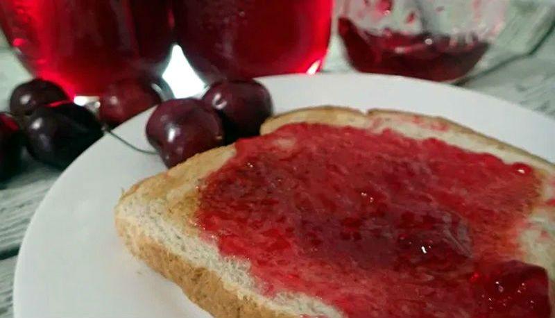 рецепт вишневого желе