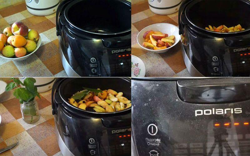 как сварить компот из свежих яблок в кастрюле