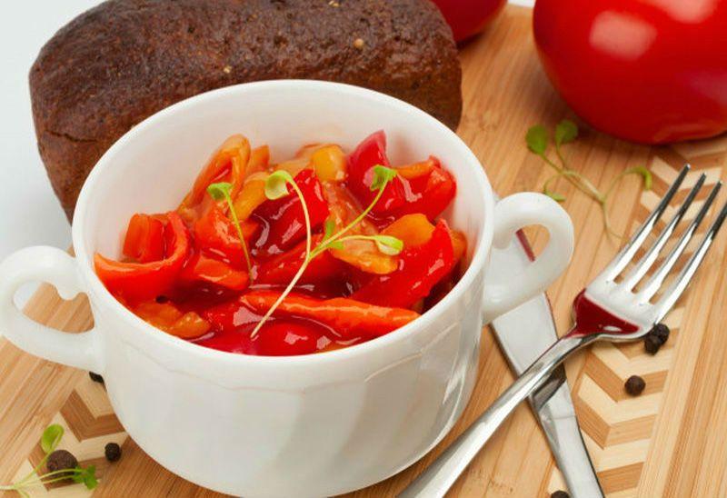 лечо с болгарским перцем и морковью