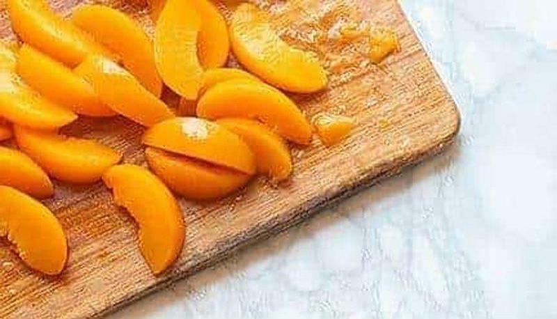 очищенные абрикосы