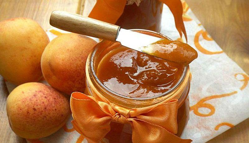 свежее варенье из абрикосов