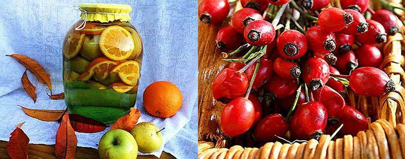 яблочно-цитрусовая заготовка