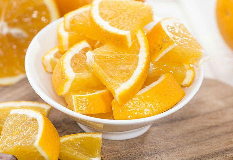 кусочки апельсинов