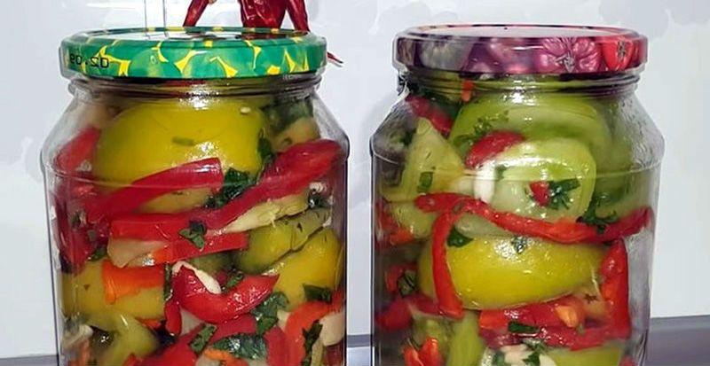 рецепт рагу из зеленых помидор на зиму без стерилизации