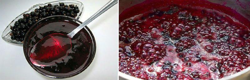 пятиминутка варенье из черной смородины