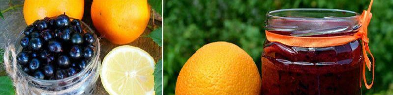 варенье из черной смородины апельсина и лимона