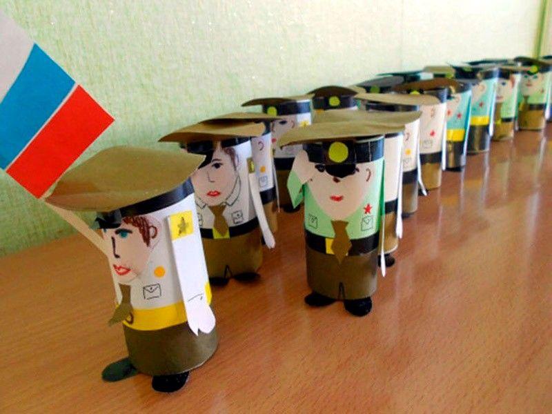 армия из втулки